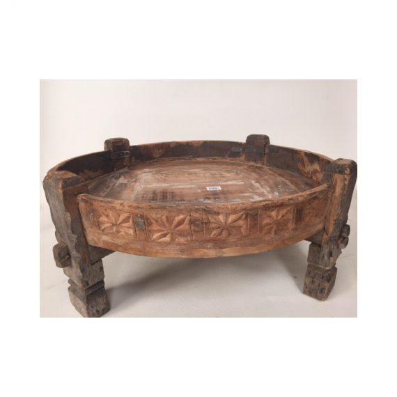 Salon Tafel Antiek.Antiek Houten Salontafel Afkomstig Uit India